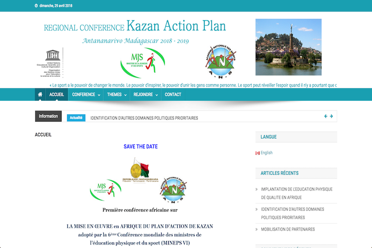 Plan d'action de KAZAN